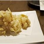 鮮魚と日本酒 魚ぽん大蔵 - 白子の天ぷら 680円