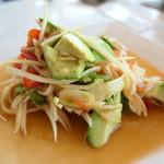ドゥワンチャン - アボカドとパパイヤのサラダ