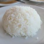 ドゥワンチャン - ご飯はタイ米