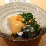 96280296 - 福岡のトラふぐにあん肝のキモ酢