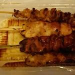 とりべえ - 料理写真:タレが旨いのよ!