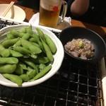 三田魚介センター - 結局これだけしか食べず お通し300円ビールノミホ1時間千円程度ならかかってしまった。