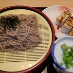 がんこ - ざるそばと穴子押し寿司