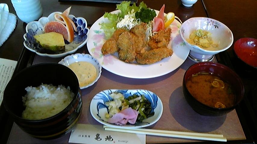 日本料理亀地