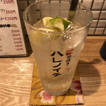 博多串焼き ハレノイチ - 芋スカッシュ、うまい!