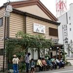 うなぎ割烹山田 - 開店前から長蛇の列!