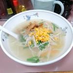 泰江飯店 - 塩ラーメン