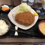とんかつ瓢 - 特選リブロースかつ定食 2,700円