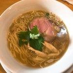 中華そば 大井町 和渦 - 料理写真:三位一体 白醤油たれ 豚×煮干し×蟹