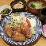 きづいち - カキフライ定食