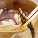 イカゲソ釜茹で アゴ出汁醤油