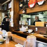 麺屋NOROMA - 店内   カウンター