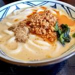 丸亀製麺 - おくさんの担々うどん