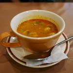 ジャイプール - チキンスープ