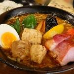 96309598 - 「豚角煮と野菜たっぷり」1300円