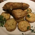ビアバー ノースアイランド - 鮭のフィッシュアンドチップスです。