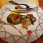 つたや季の宿 風里 - 前菜9種