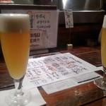 96311721 - 最初の生ビール。なんとかいう…忘れた(*_*;