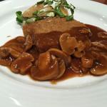 Tossajikurassan - ・日替わりランチ 牛ロースのカツレツ マデラソース