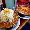 ラーメン党 ひさご - 料理写真:ネギ味噌 & 特選味噌ラーメン