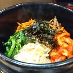 韓家ネ - 料理写真:石焼ビビンバ