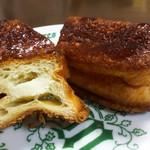 ハースブラウン - 料理写真:練乳とチーズのキャラメリゼ