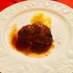 和牛ホホ肉の煮込み  黒胡椒の香り