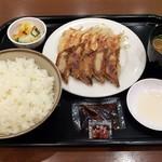 96323798 - 焼焼定食(ご飯大盛 JAF会員無料)