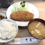 96324093 - ヒレカツ定食