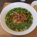 中華家 しかけん - 料理写真:セットのタンツー麺