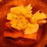 96325327 - 柿とモッツァレラチーズのカブレーゼ
