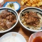 ヤオヨシ - 和牛VSヤオヨシの豚レバー