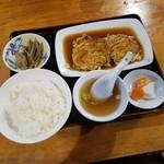 チャイニーズレストラン・ログハウス - 料理写真:「芙蓉蟹(かに玉)定食 (860円)」