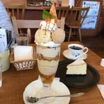 クリクリ - 料理写真:りんごと紅茶のパフェ