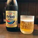 麺屋玉ぐすく - オリオンビール