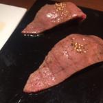 扇の牛TOKYO - ロースのお寿司