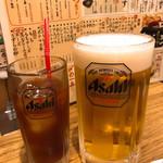 でんがな - ビールは大ジョッキ(1リットル)