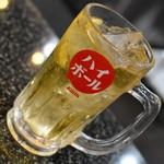あみやき亭 - ハイボール(380円+税)