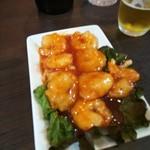アジアンキッチンアロヒ - エビチリ