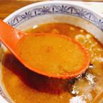 三田製麺所 - 濃いぃ〜です。