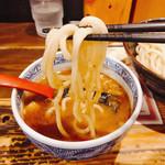 三田製麺所 - 重くて持ち上げるの大変(^◇^;)