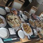 アプリコット - グループ会全体料理の一例