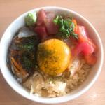 築地食堂 源ちゃん - まかない丼 ¥580 小さくて美味しいお得感
