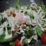 骨付鶏 ひろ - 【201109】シーザーサラダ
