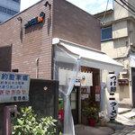 コクブンジ55 - 麺屋利休に向かう細道沿いというマニアックな出店(笑)。