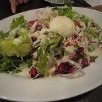 湘南の魚とワインの店 ヒラツカ - 地野菜のシーザーサラダ