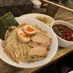 岡本商店 - 麻辣つけ麺〜♥(ˆ⌣.ˆԅ)¥850円・*:..。o○☼*゚