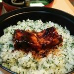 きく宗 - 田楽を菜めしに乗せて、、美味しいっっ