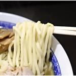 中華そば べんてん - プリプリ感極まる麺。