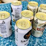 肉のさかもと - ビールが1.2.3.4.5.6.7.....